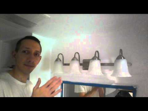 FEIT ELECTRIC LED VANITY FIXTURE INSTALL #2