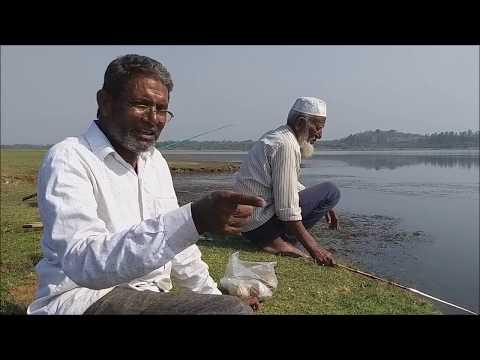 Fish Hunting, Dr. Mohan Rao With Fishing High, RAHU FISHING CARP, MRIGAL,  Big Fish,  Big Catch