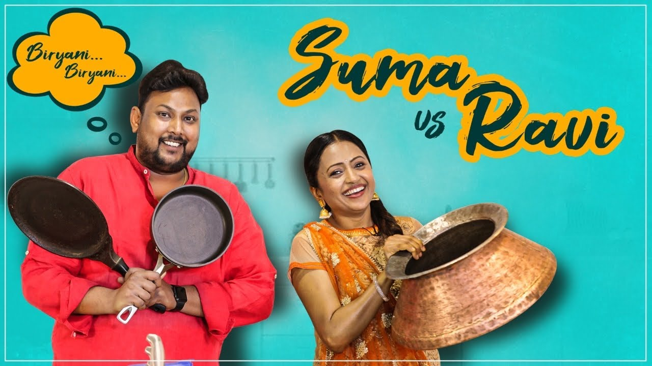 RAVI vs SUMA | Biryani Making | Chitti Muthyalu Biryani | Malbar Biryani | Street Byte | Silly Monks
