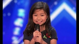 "Video Celine Tam [Legendado PT-BR] - Got Talent | Garotinha de 9 anos canta ""My Heart Will Go On"". download MP3, 3GP, MP4, WEBM, AVI, FLV Juli 2018"