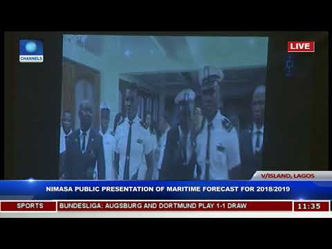 NIMASA Public Presentation Of Maritime Forecast For 2018/2019 Pt.4 |Live Event|