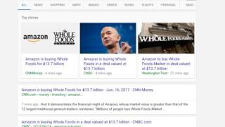 Amazon to BUY Whole Foods Market at $42/Share
