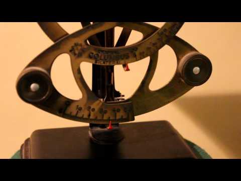 [ SOLD ] Original Columbus Bilateral Vintage Letter Scale - maker: Ph.J. Maul Germany