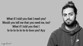 Ali Gatie - What If i Told You That i Love You (Lyrics)