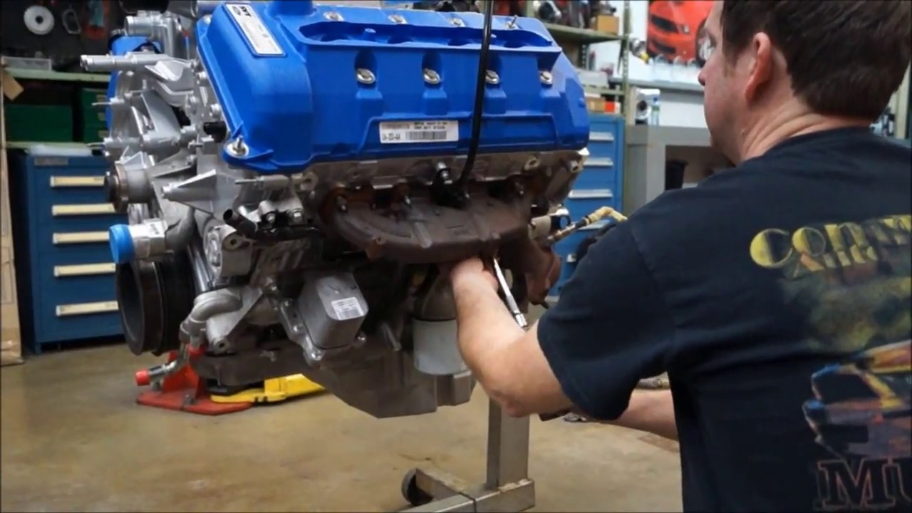 2013 Gt500 5 8 Engine Build By Competition Auto Part3