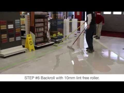 How to Apply HSE 100% Solids Epoxy