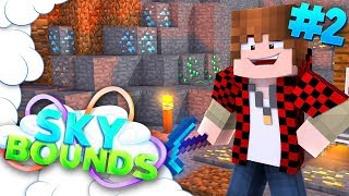 OVERPOWERED MINING! | SKYBOUNDS ISLAND #2 (Minecraft SkyBlock SMP)