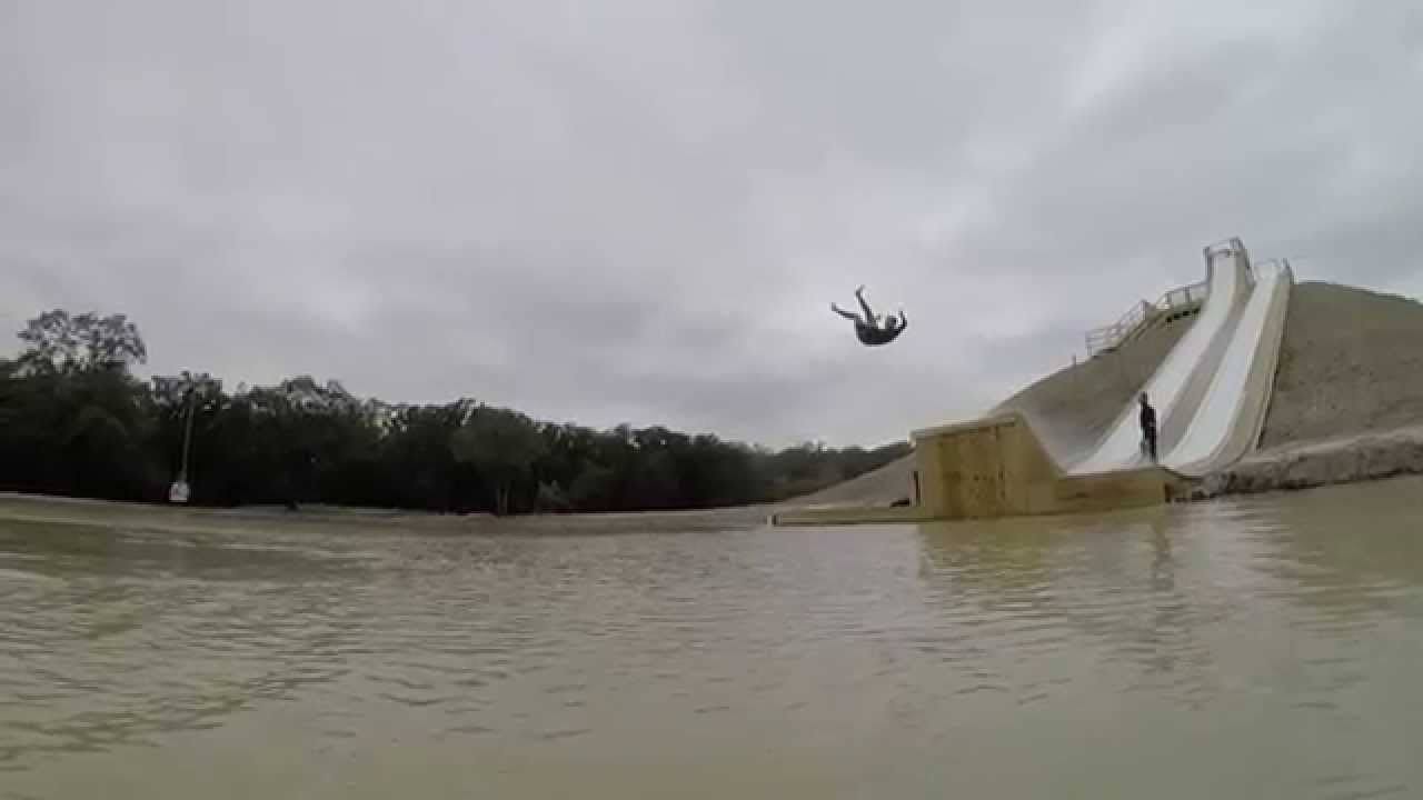 Waco - BSR Cable Park - SLIDE - YouTube