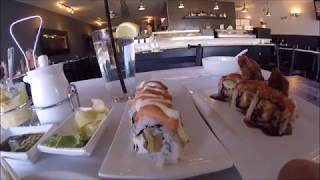 Azukar Sushi, Awesome Food Video, VLOG,  All you can Eat Sushi, Best Value