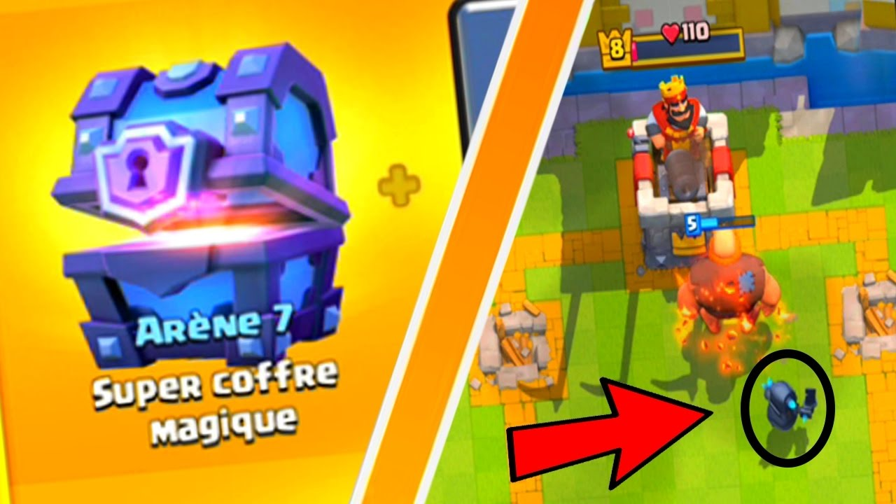 Clash royale super magical chest meilleur deck rush for Clash royale meilleur deck arene 7