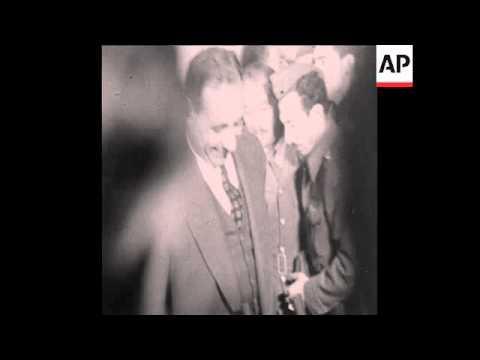 CAN 033 LIBRARY FOOTAGE OF BAGHDAD AFTER THE FEBRUARY 1963 COUP D'ETAT