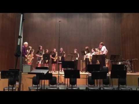2016 sax ensemble at LVC summer camp
