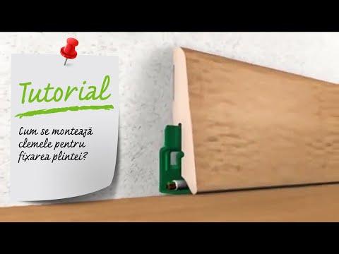 Cum Se Monteaza Clemele Pentru Fixarea Plintei Ghid Video