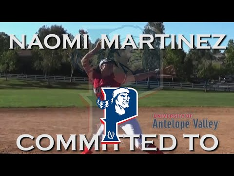 2021 Naomi Martinez Committed to The University of Antelope Valley