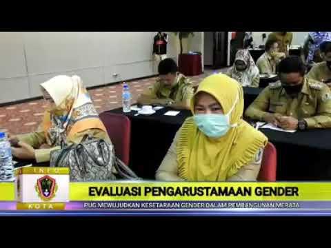 Wali Kota Gorontalo  Membuka Kegiatan Evaluasi Pengarustamaan Gender