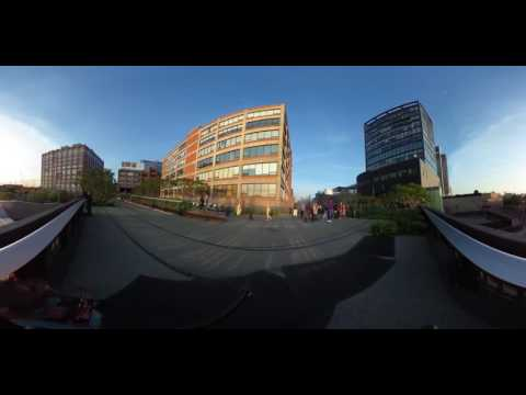 Time Lapse 360 on the Highline