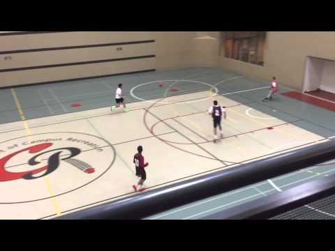 Pi Kapp x Kappa Sig  2015 Indoor soccer semifinals 1st half