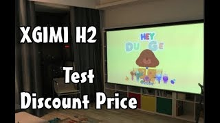 Original XGIMI H2 DLP Home Theater Projector Test - Review Price