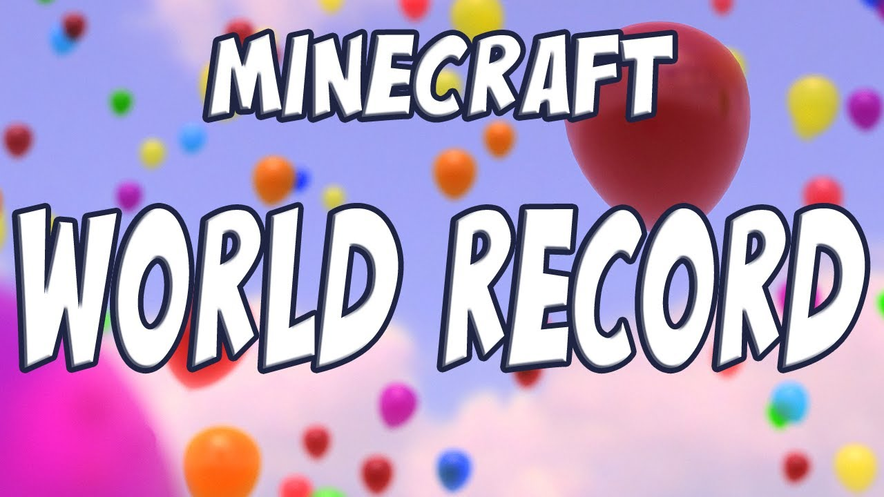 Minecraft: Ten of the best block-busting world records
