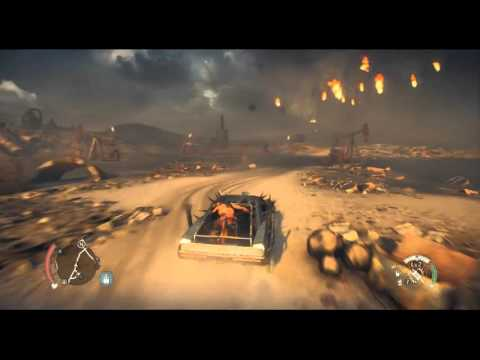 Mad Max PC i3 4360 CPU Sapphire 7870 Game Play