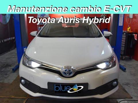MANUTENZIONE CAMBIO AUTOMATICO E-CVT TOYOTA AURIS HYBRID