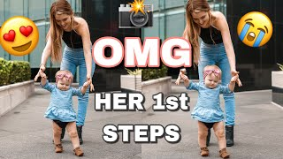 Video HOW I TAUGHT MY BABY TO WALK: *emotional* download MP3, 3GP, MP4, WEBM, AVI, FLV November 2018