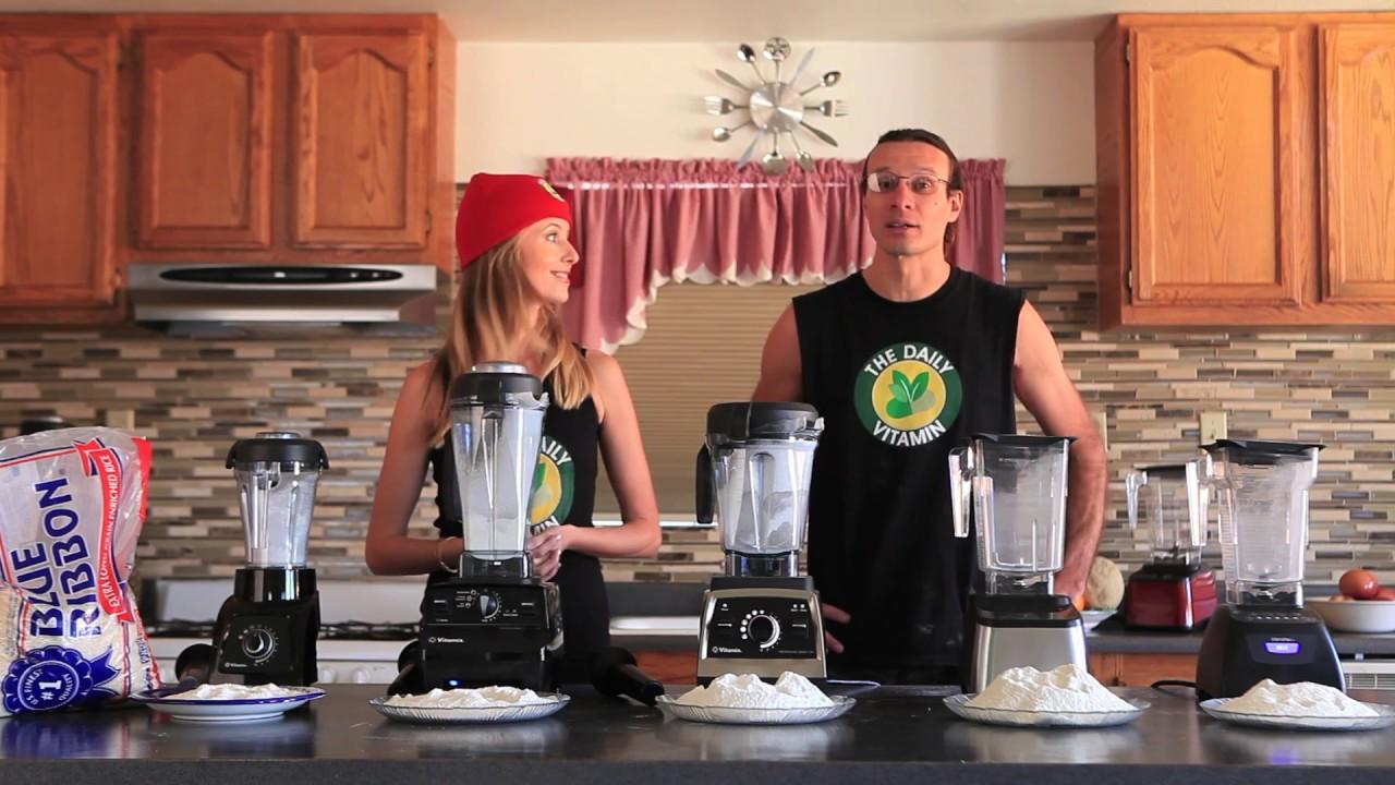 Blendtec Kitchen Mill Pantry Stand Alone Best Blender To Make Flour Vs Vitamix Models Compared Grain