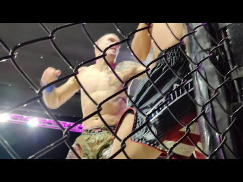 Sparta Wyoming 3 First Lethwei fight in US! LT Nelson vs Estevan Payan