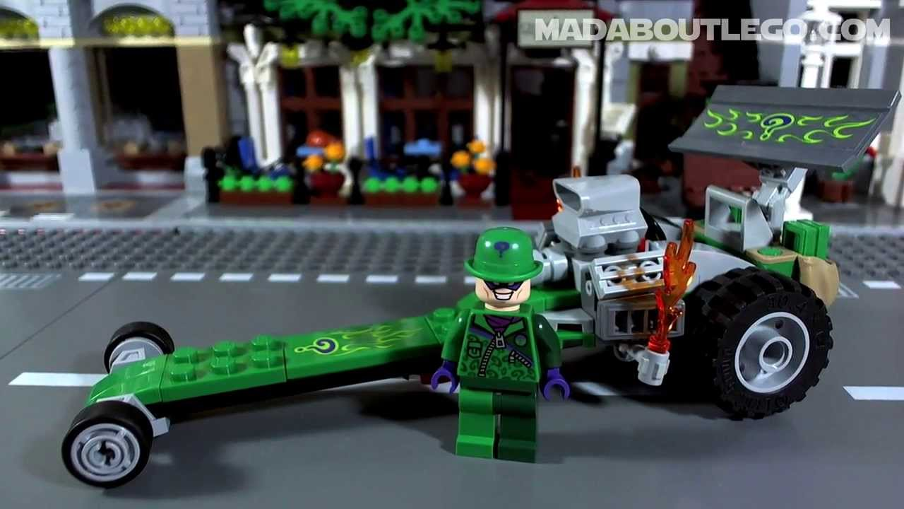 LEGO BATMAN The RIDDLER Chase 76012 - YouTube