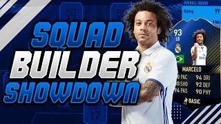 STRIKER TOTY MARCELO SQUAD BUILDER SHOWDOWN!! - FIFA 17!!