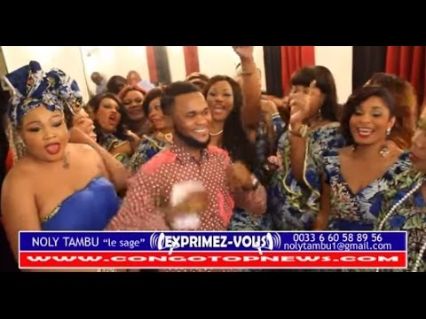 Sortie Officielle des MAMAN HOLLYWOOD EN BLANC Ba Bougée Paris, Trop SEXY Na LIPUTA by NOLY TAMBU
