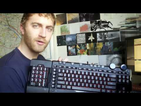 7881d1ace8d Sidewinder X6 gaming keyboard review - YouTube