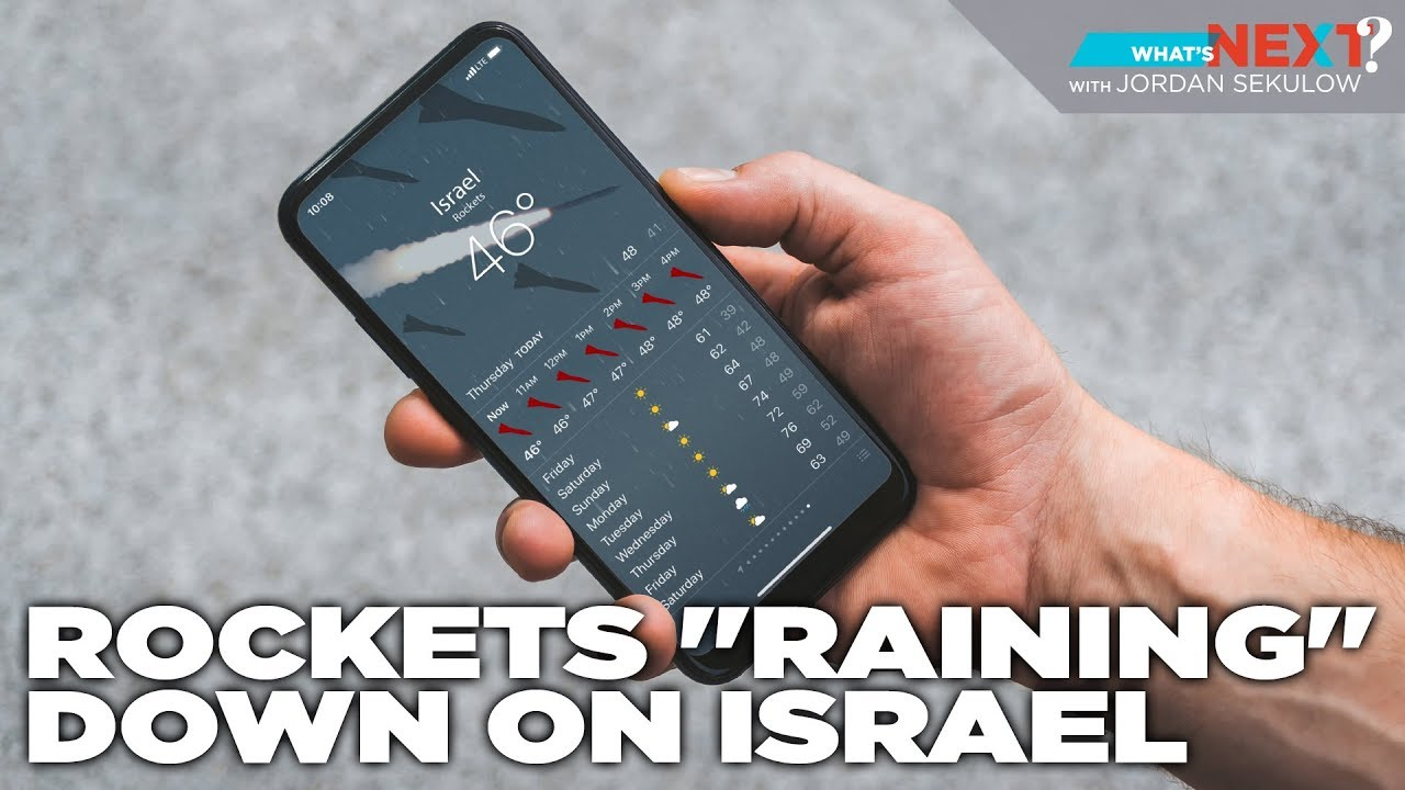 "Deadly Rocket Attacks ""Raining"" Down on Israel - What's Next? Ep. 23 - ACLJ"