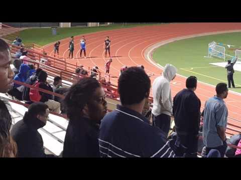 100m 8th Grade Boys Bessie Coleman Middle School  03.02.16