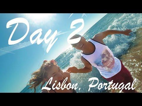 Lisbon Day 2   Beach, Shopping, Drinks