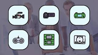 Electronic Device Animation Flat Icons and Elements - After Effects Template