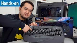 Drucksensitive Tasten - Was bringt das? Roccat Isku+ FX im Hands-on | #Gaming-PC
