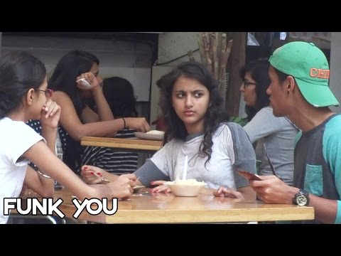 Eating Girl's Food Prank by Funk You (Prank in India)