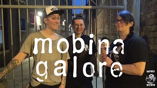 MOBINA GALORE - Interview & Live - Manchester Punk Festival - MPRV News