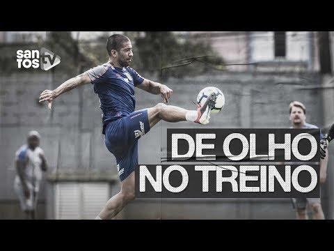 DEBAIXO DE CHUVA, SANTOS TREINA FIRME PARA O BRASILEIRÃO | DE OLHO NO TREINO (05/09/19)