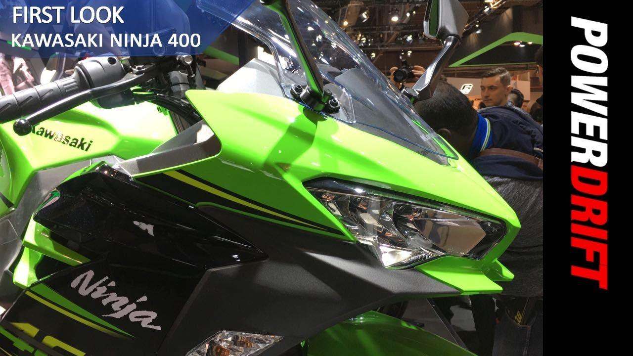 Kawasaki Ninja 400 Eicma 2017 Powerdrift Youtube
