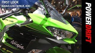 Kawasaki Ninja 400 : EICMA 2017 : PowerDrift