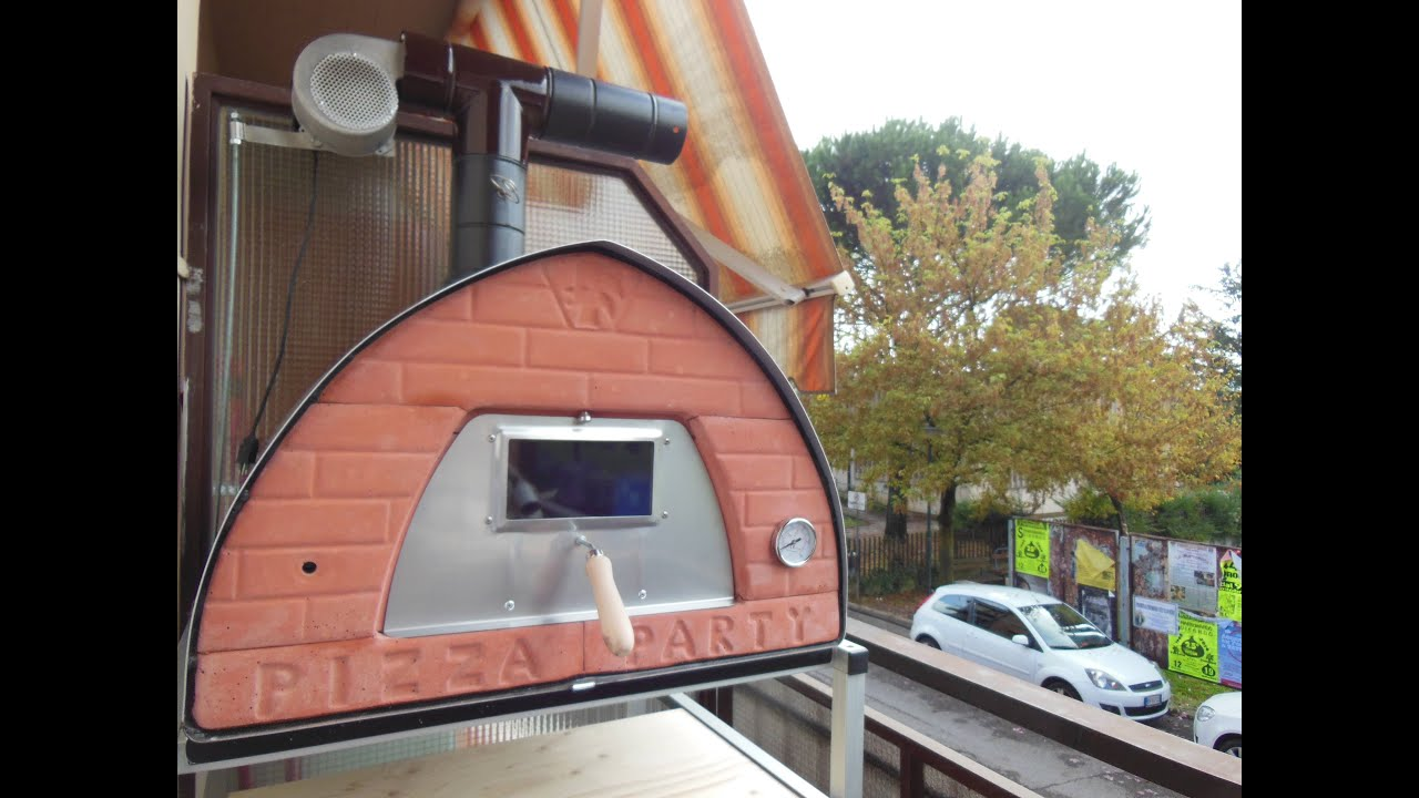 Antipipistrello 2 l 39 abbattitore di fumo per forni a legna e barbecue youtube - Forni per pizza casalinghi ...
