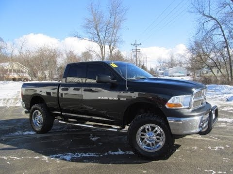 2011 Dodge Ram 1500 St Rocky Ridge Custom Truck Youtube
