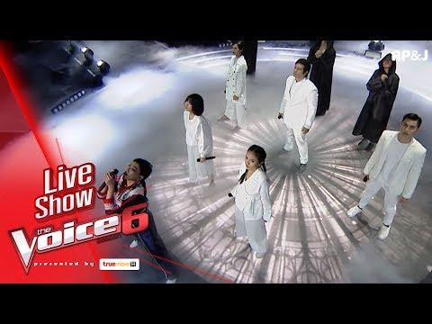 โชว์ทีมดา - Like a Prayer - Live Show - The Voice Thailand - 18 Feb 2018