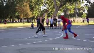 【Mini Sports 迷你運動】蜘蛛人平時也是要打籃球維持體力