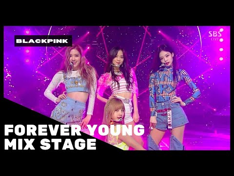 Free Download Blackpink - 'forever Young' Sbs Inkigayo ( Stage Mix ) Mp3 dan Mp4