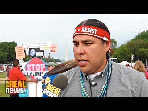 Dallas Goldtooth: People's Climate March