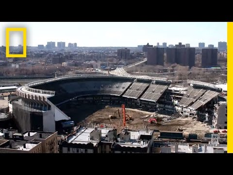 See Yankee Stadium Vanish in 30 Seconds | National Geographic
