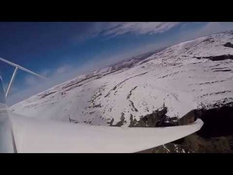 Gliding in South Africa Drakensberg Mountains - August 2016
